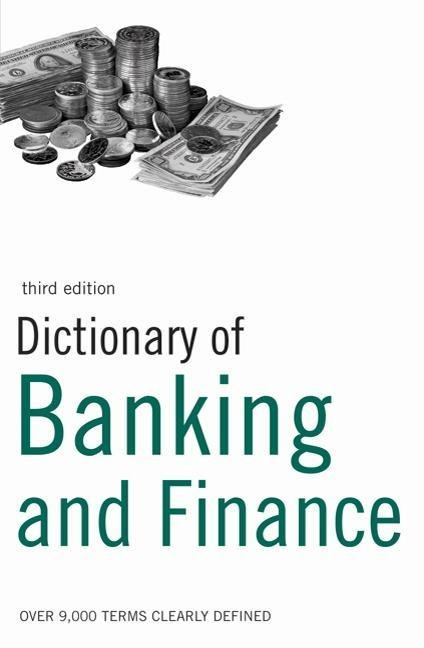 Dictionary of Banking and Finance EB9781408102275