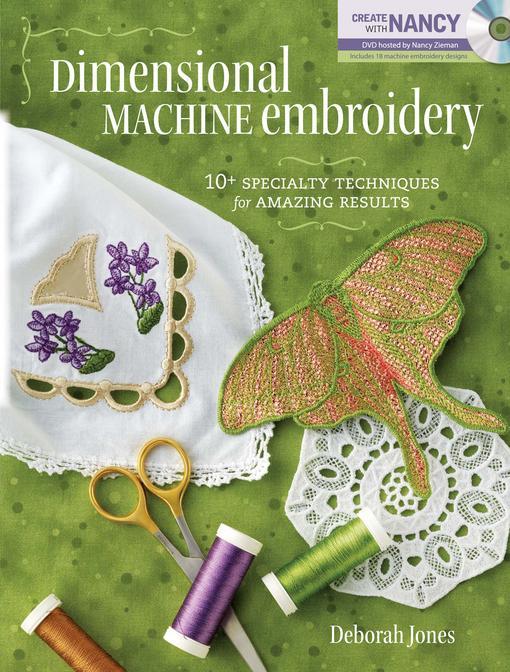 Dimensional Machine Embroidery EB9781440216565