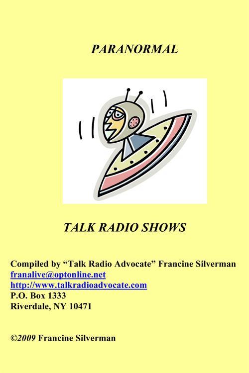 Directory of Paranormal Talk Radio Shows EB9781452303376