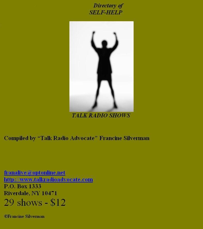 Directory of Selp-Help Talk Radio Shows EB9781452303192