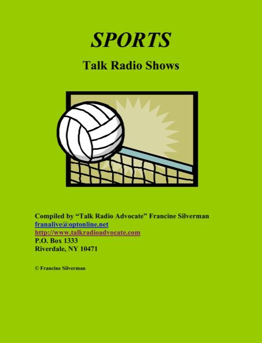 Directory of Sports Talk Radio Shows EB9781452303123