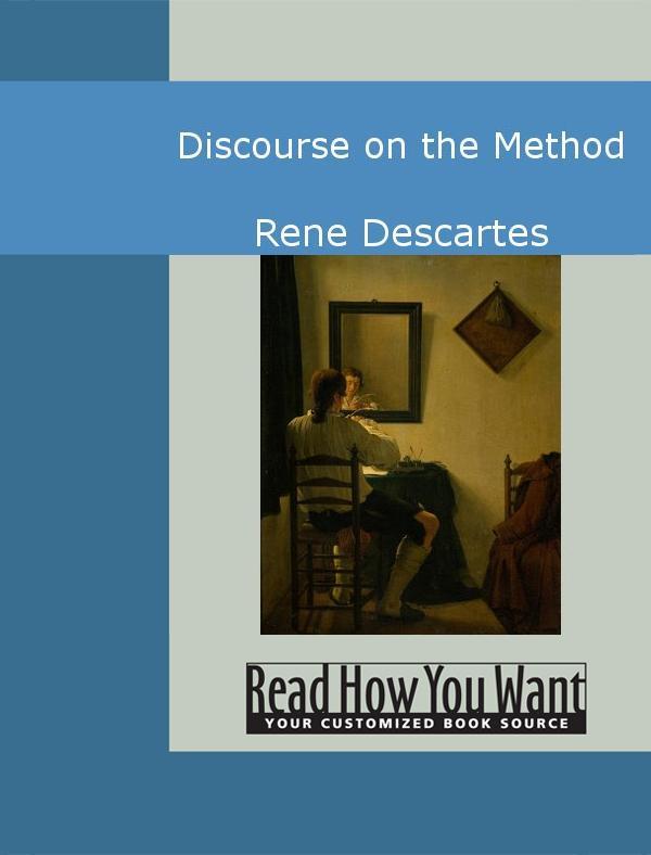 Discourse on the Method EB9781442936751
