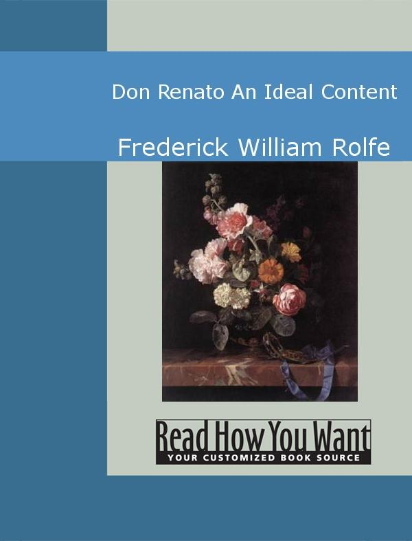Don Renato: An Ideal Content EB9781442939028