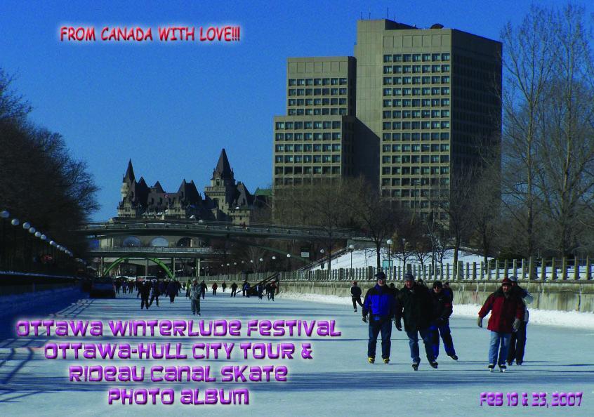 Ottawa Winterlude Festival - Ottawa & Hull Tour Photo Album - Feb 19 & 23, 2007 (English eBook) EB9781414900452