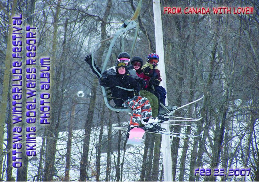 Ottawa Winterlude Festival - Skiing Edelweiss Resort Photo Album - Feb 22, 2007 (English eBook C9) EB9781414900711
