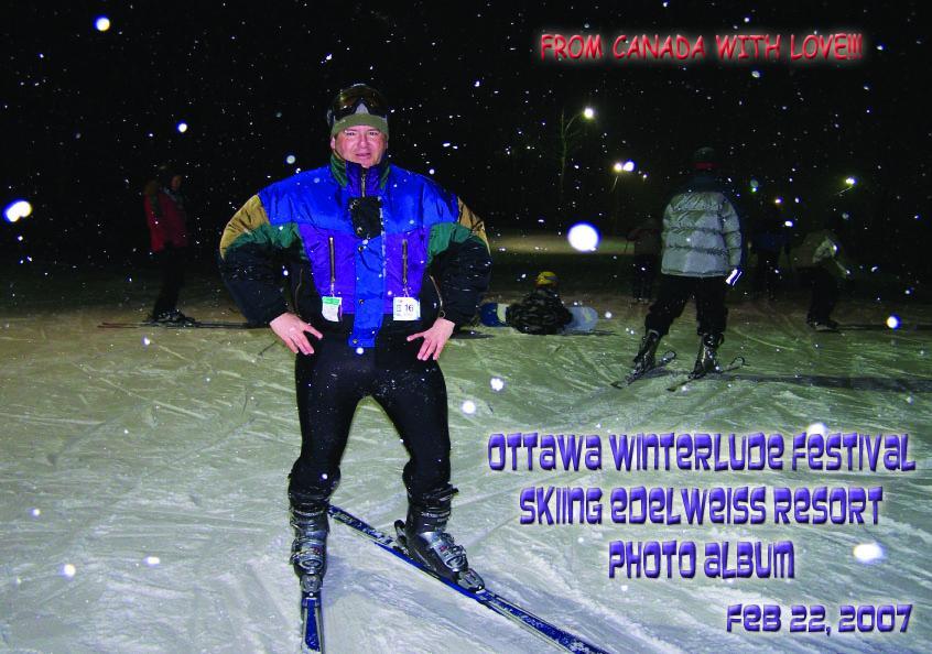 Ottawa Winterlude Festival - Skiing Edelweiss Resort Photo Album - Feb 22, 2007 (English eBook C11) EB9781414900735