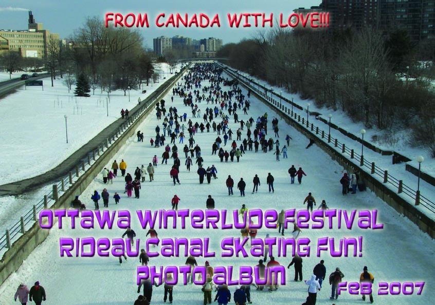 Ottawa Winterlude Festival - Rideau Canal Skating Fun! Photo Album - Feb 2007 (English eBook C1) EB9781414900995