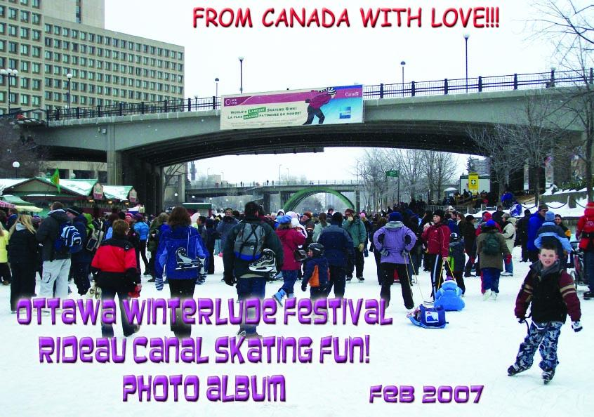 Ottawa Winterlude Festival - Rideau Canal Skating Fun! Photo Album - Feb 2007 (English eBook C12) EB9781414901107
