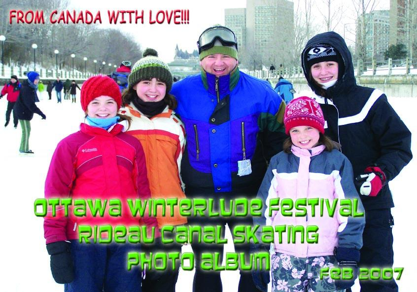 Ottawa Winterlude Festival - From Ottawa With Love! Photo Album - Feb 2007 (English eBook C3)