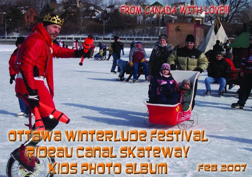 Ottawa Winterlude Festival - Rideau Canal Kids! Photo Album - Feb 2007 (English eBook C8) EB9781414901305