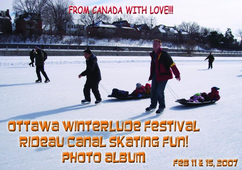 Ottawa Winterlude Festival - Rideau Canal Skating Fun!  Feb 11 & 15, 2007  Photo Album (English eBook C6) EB9781414901411