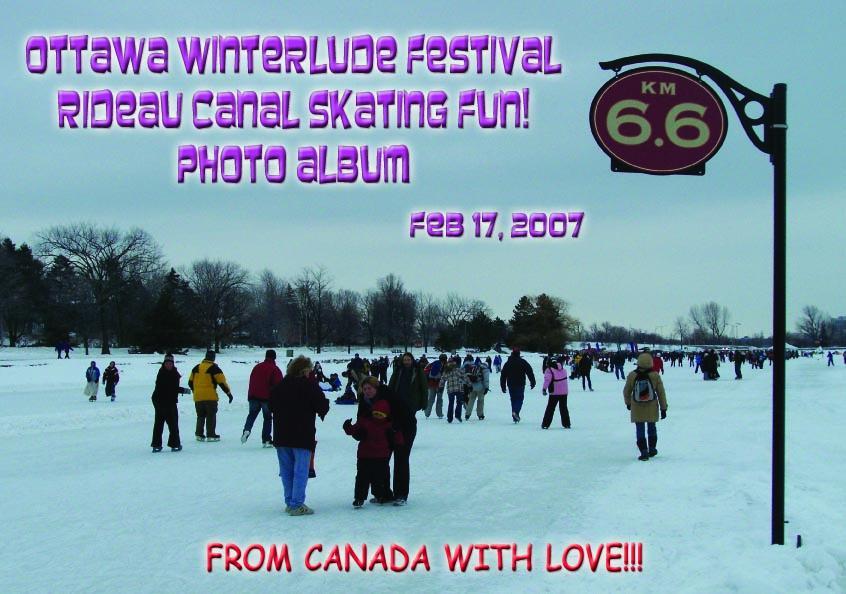 Ottawa Winterlude Festival - Rideau Canal Skating Fun!  Feb 17, 2007  Photo Album (English eBook C11) EB9781414901589