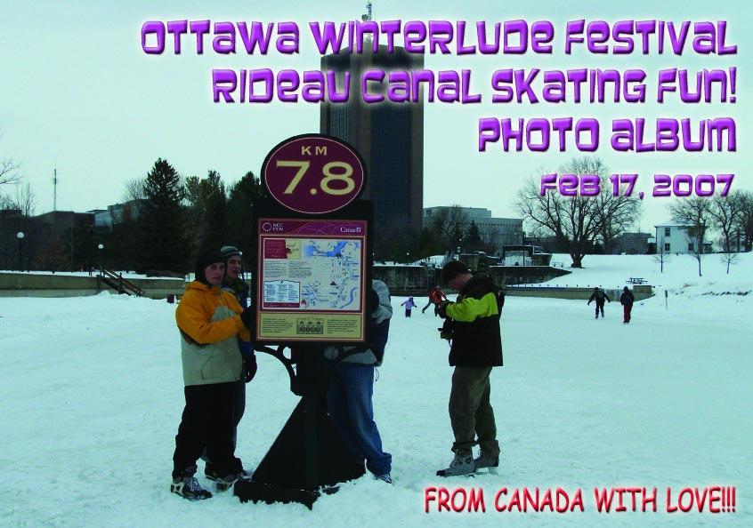 Ottawa Winterlude Festival - Rideau Canal Skating Fun!  Feb 17, 2007  Photo Album (English eBook C12) EB9781414901596
