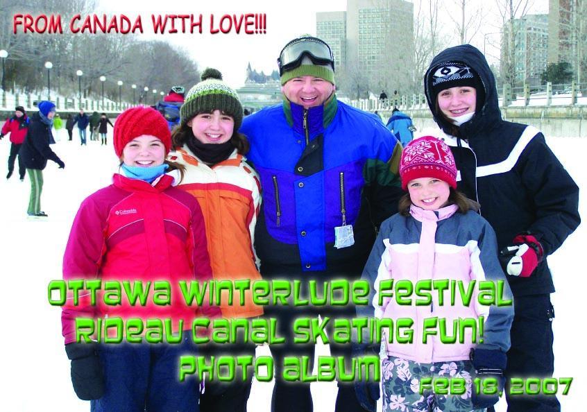 Ottawa Winterlude Festival - Rideau Canal Skating Fun!  Feb 18, 2007  Photo Album (English eBook C1) EB9781414901602