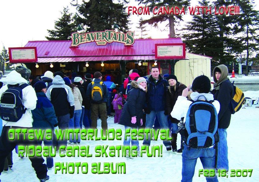 Ottawa Winterlude Festival - Rideau Canal Skating Fun!  Feb 18, 2007  Photo Album (English eBook C6) EB9781414901657