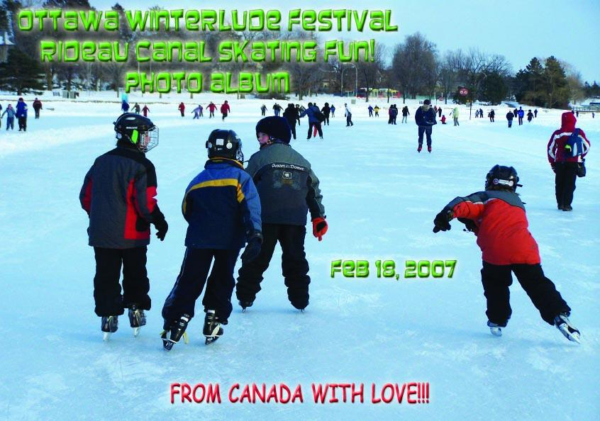 Ottawa Winterlude Festival - Rideau Canal Skating Fun!  Feb 18, 2007  Photo Album (English eBook C10) EB9781414901695