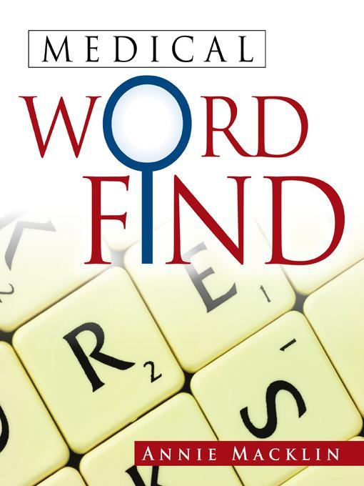 MEDICAL WORD FIND EB9781466934221