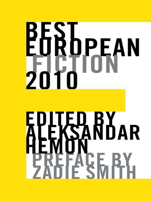 Best European Fiction 2010 EB9781564786166