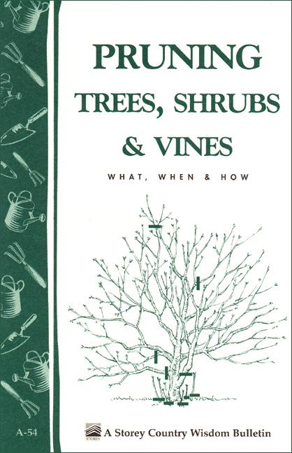 Pruning Trees, Shrubs & Vines: Storey's Country Wisdom Bulletin A-54 EB9781603424103