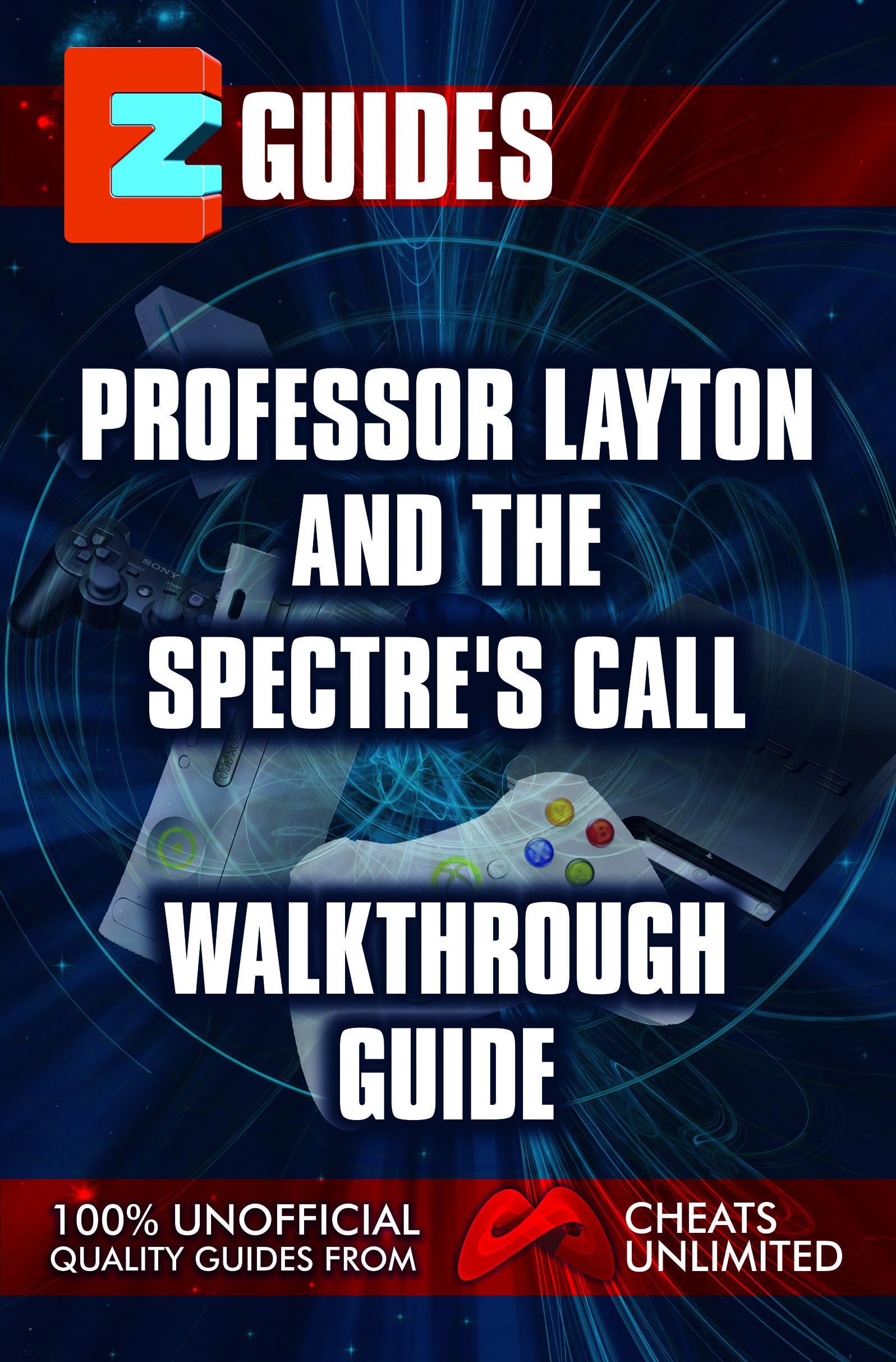 EZ Guide Professor Layton & The Last Spectre EB9781908429049