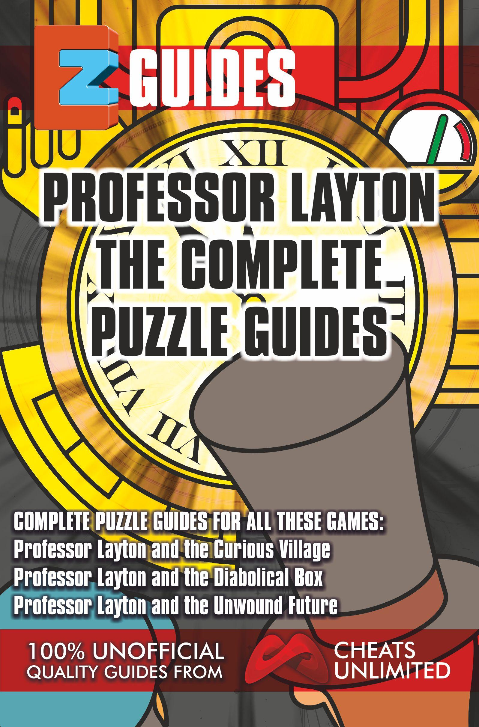 EZ Professor Layton The Complete Puzzle Guides EB9781907649929