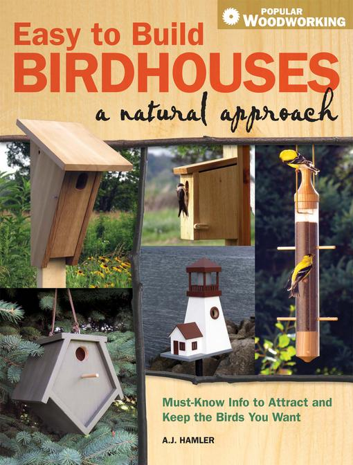 Easy to Build Birdhouses - A Natural Approach EB9781440309762