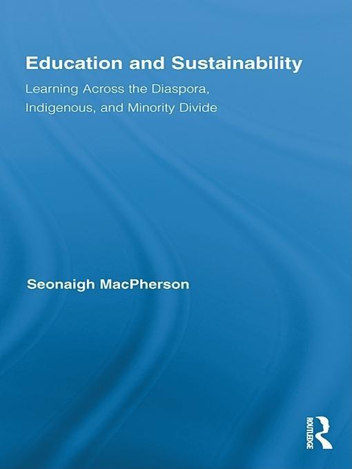 Education and Sustainability EB9781136789052