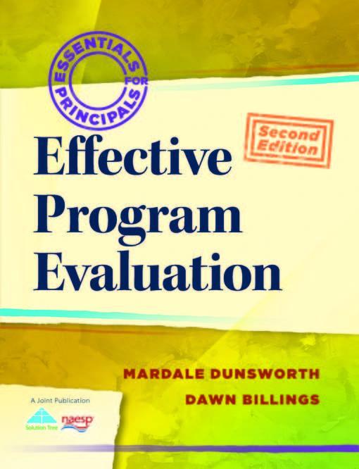 Effective Program Evaluation EB9781935542926