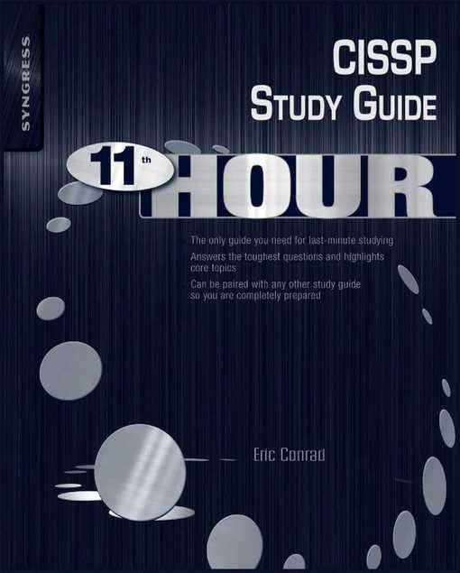Eleventh Hour CISSP: Study Guide EB9781597495677