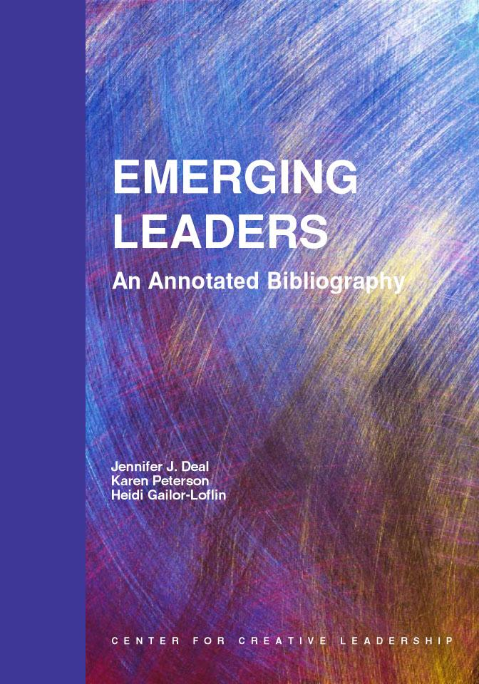 Emerging Leaders: An Annotated Bibliography EB9781932973297