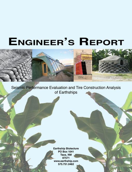Engineer's Report: Seismic Performance Evaluation and Tire Construction Analysis EB9781456608019