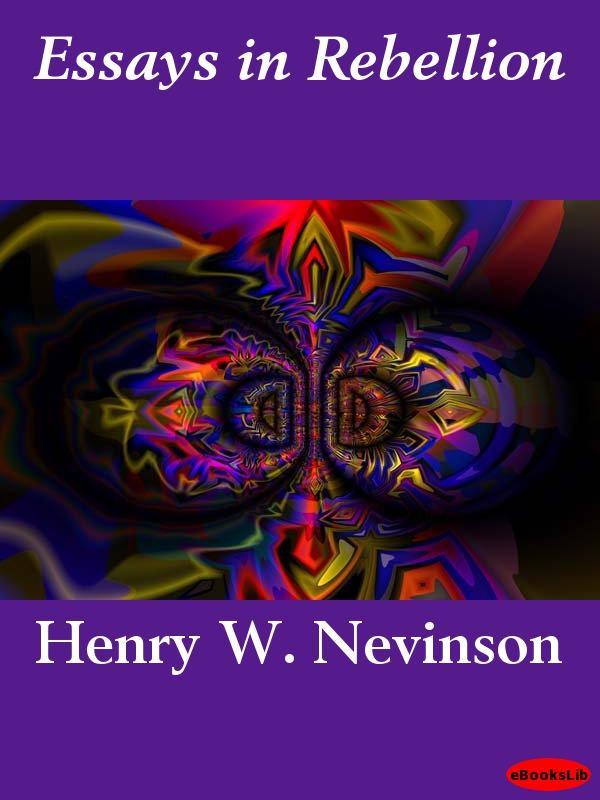 Essays in Rebellion EB9781412188401
