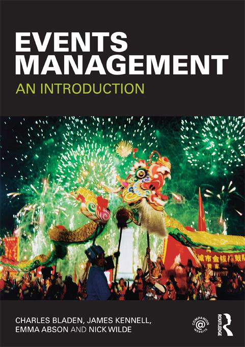 Events Management EB9781136980398