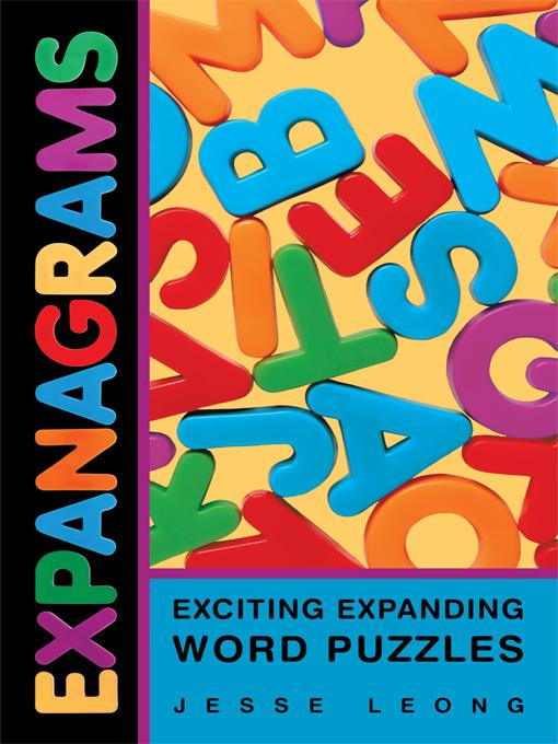 Expanagrams: Exciting Expanding Word Puzzles EB9781462016402