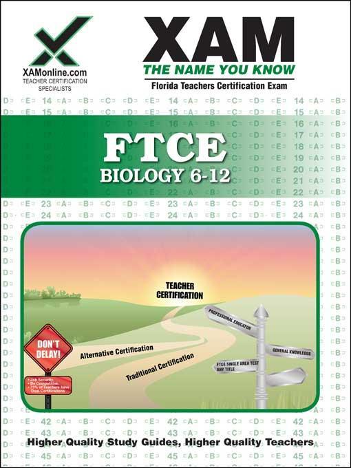 FTCE Biology 6-12 EB9781607877516