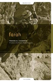 Farah Provincial Handbook: A Guide to the People and the Province