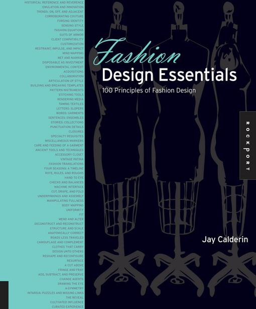 Fashion Design Essentials EB9781610580434