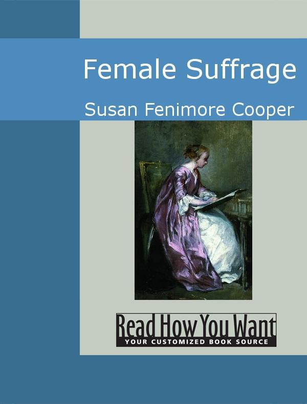 Female Suffrage EB9781442936379