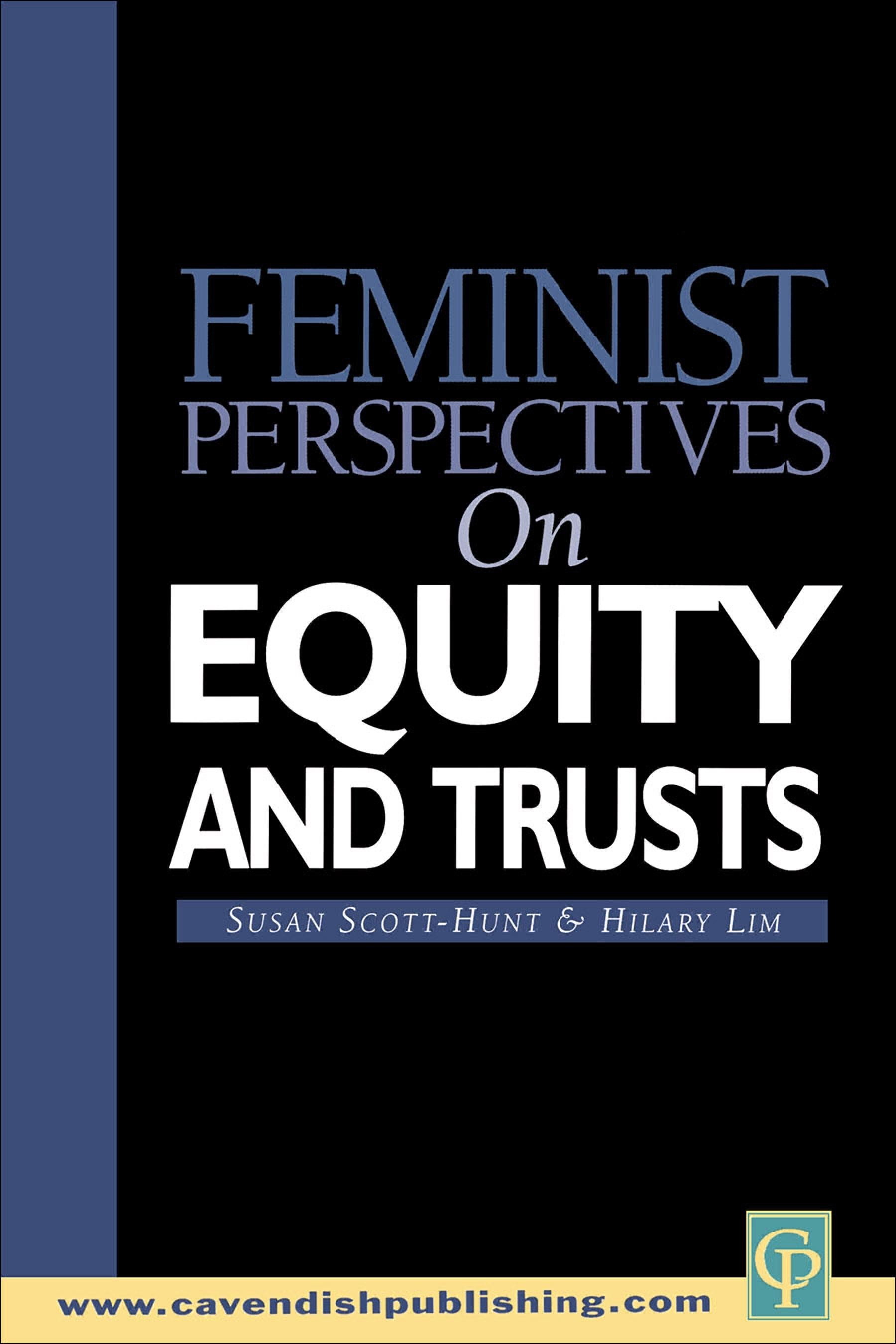 Feminist Perspectives on Equity and Trusts