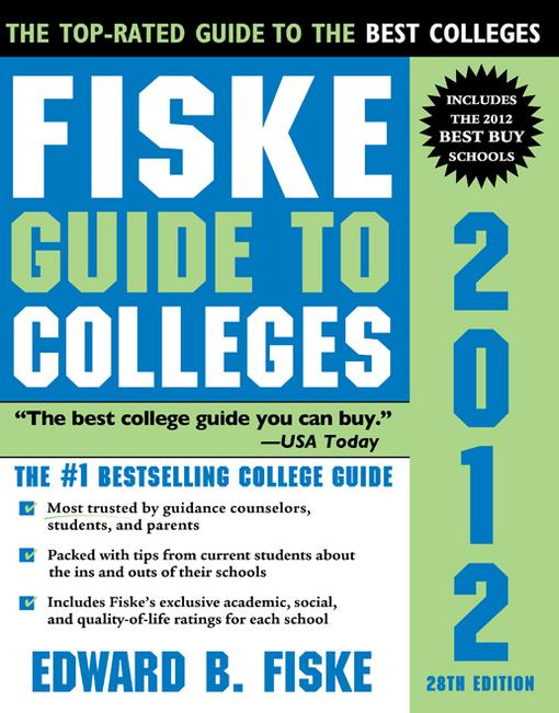 Fiske Guide to Colleges 2012 EB9781402253508