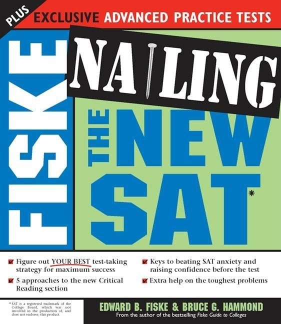 Fiske Nailing the New SAT EB9781402220647