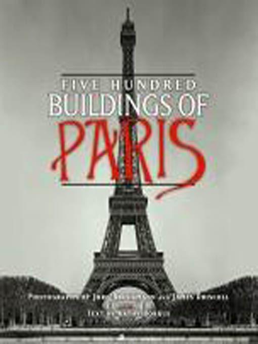 Five Hundred Buildings of Paris EB9781603762670