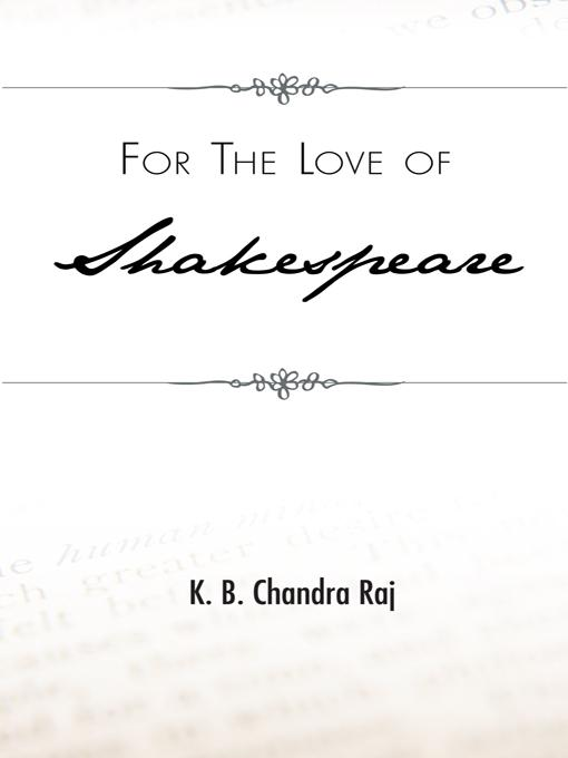 For the Love of Shakespeare EB9781426968044