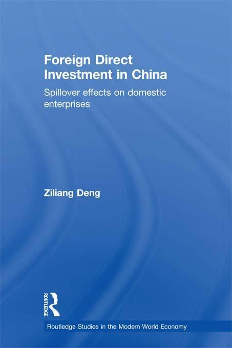 Foreign Direct Investment in China EB9781136672637