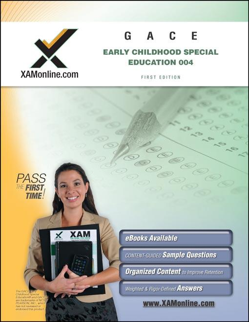 GACE Early Childhood Special Education 004 EB9781607876922
