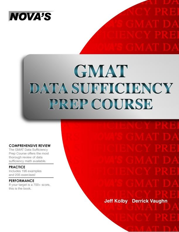 GMAT Data Sufficiency Prep Course EB9781889057576