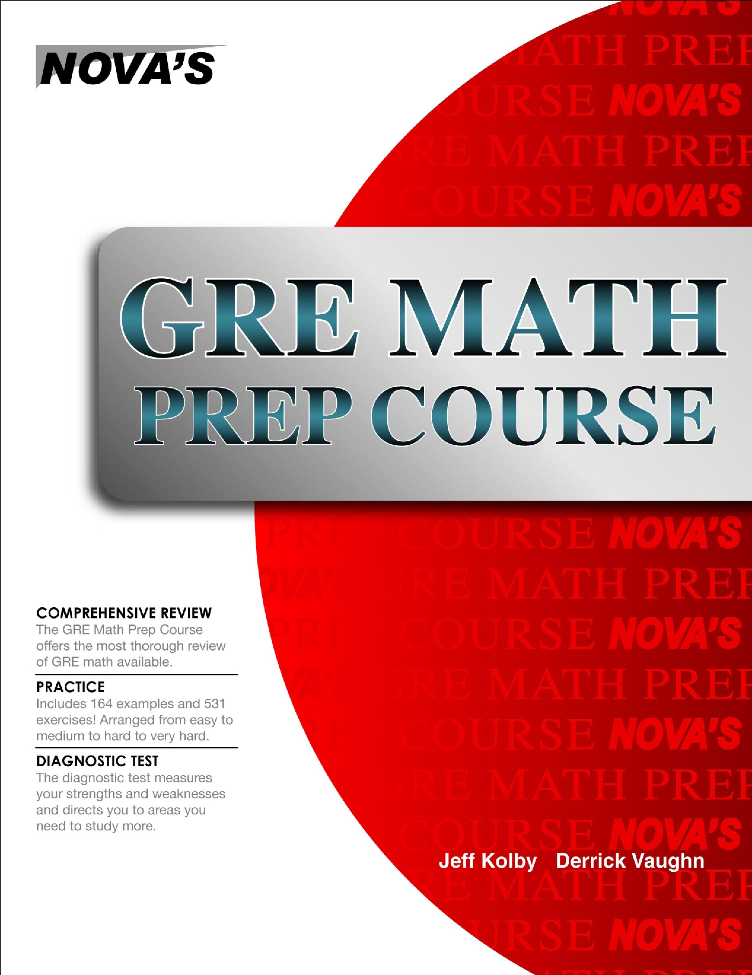 GRE Math Prep Course EB9781889057682