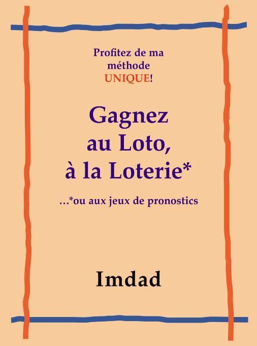 Gagnez au Loto, ? la Loter...*ou aux jeux de pronostics EB9781425199463