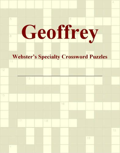 Geoffrey - Webster's Specialty Crossword Puzzles EB9781114009707