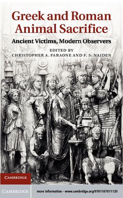 Greek and Roman Animal Sacrifice EB9781139335089